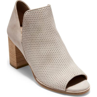 Cole Haan Shiloh Open Toe Bootie, White