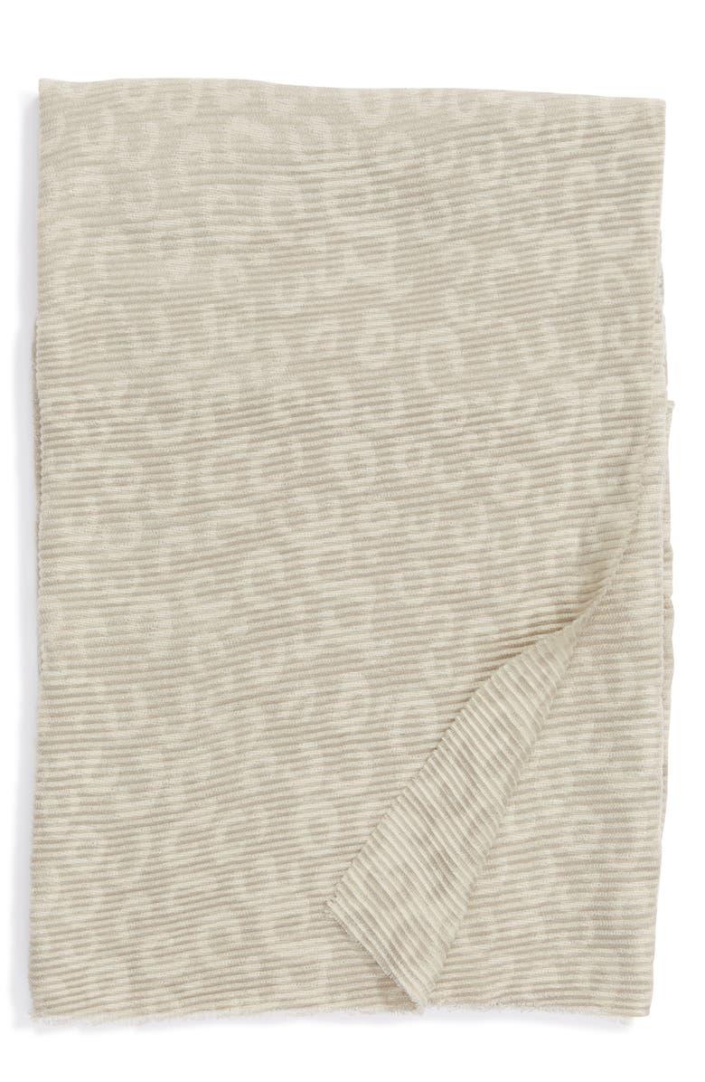 NORDSTROM Leopard Throw Blanket, Main, color, GREY MOONBEAM LEOPARD PRINT