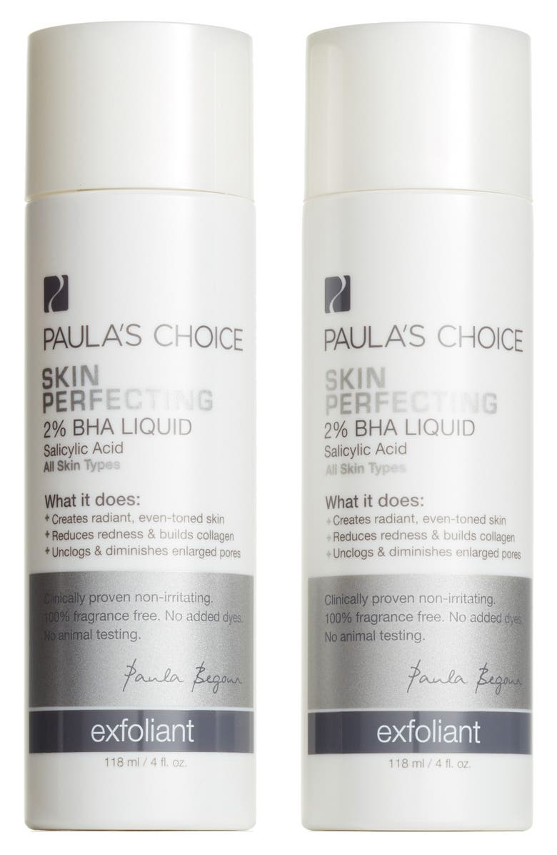 PAULA'S CHOICE Skin Perfecting 2% BHA Liquid Exfoliant Duo, Main, color, 000