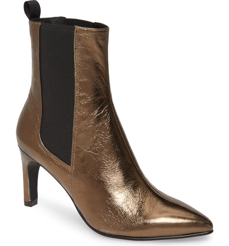 VAGABOND SHOEMAKERS Whitney Bootie, Main, color, BRONZE LEATHER