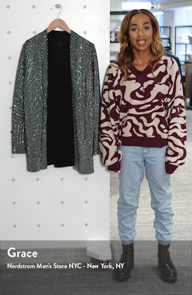 Serge Rhinestone Cardigan, sales video thumbnail