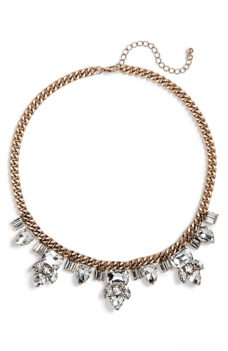 BP. Crystal Statement Necklace, Main, color, 710