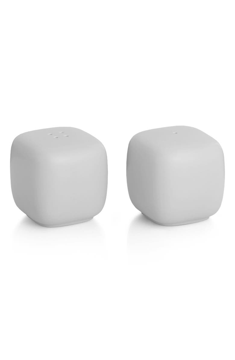 NAMBÉ POP Salt & Pepper Shakers, Main, color, CHALK