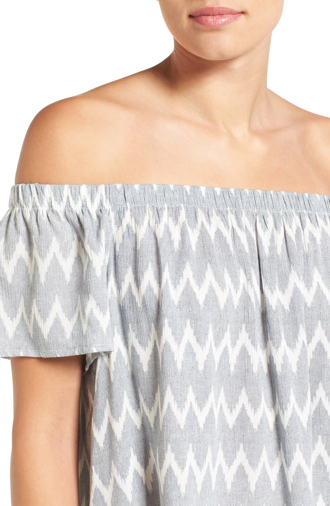 ,                             Off the Shoulder Top,                             Alternate thumbnail 7, color,                             070