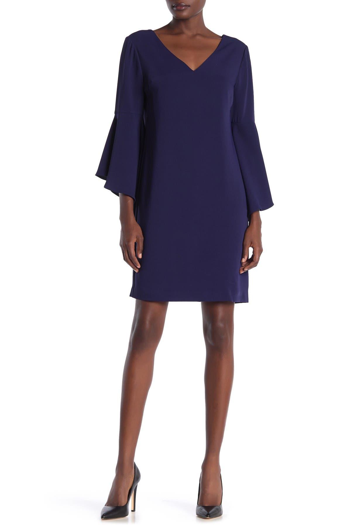 Image of trina Trina Turk Nico Bell Sleeve Dress