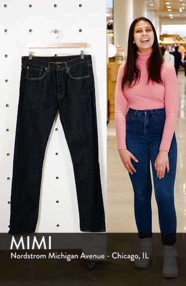501<sup>®</sup> Straight Leg Jeans, sales video thumbnail