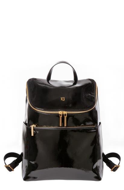 Eric Javits Kaji Backpack In Black