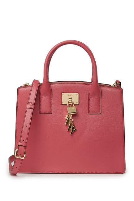 Image of DKNY Elissa Leather Tote Bag