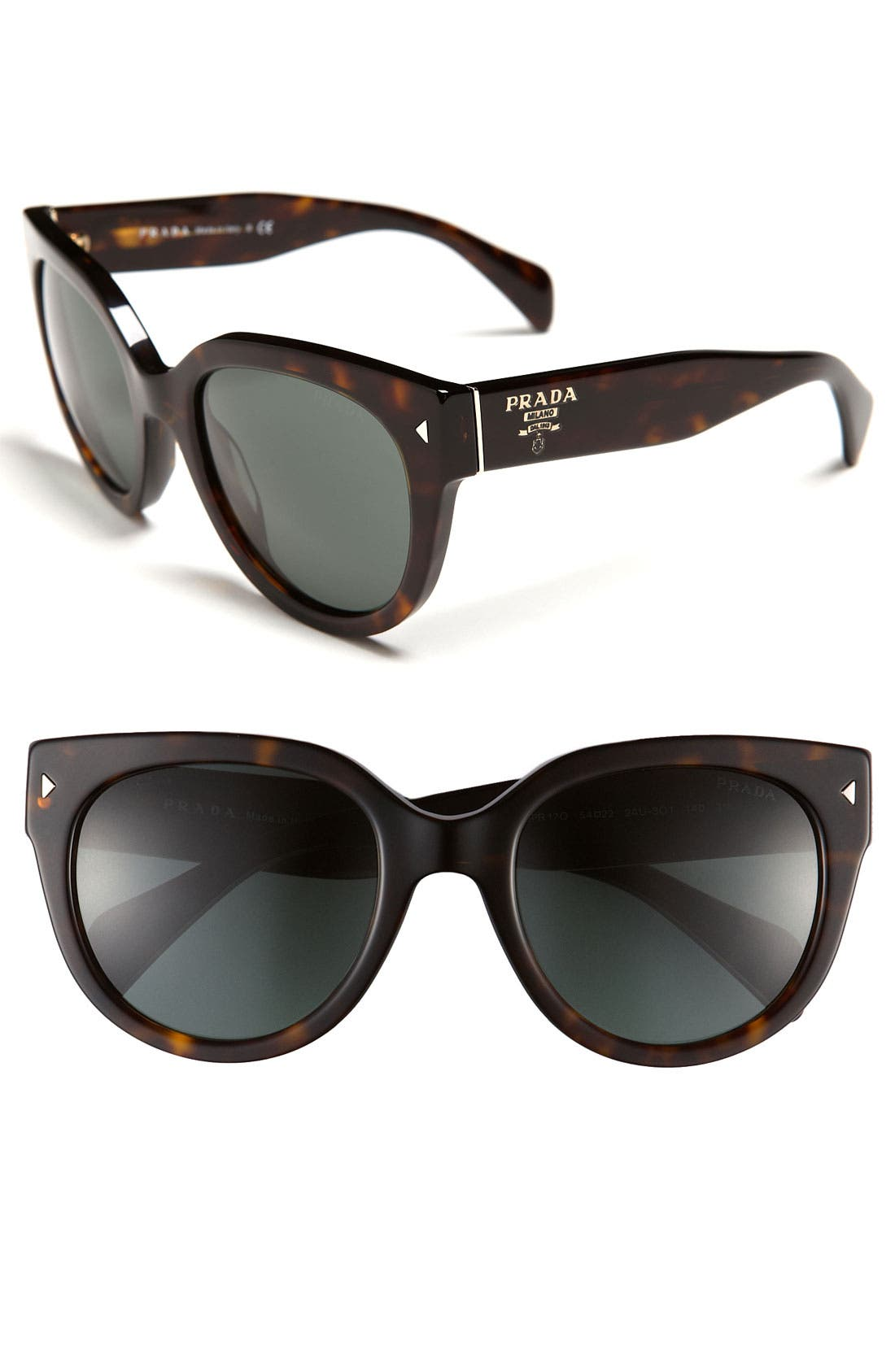 ,                             54mm Cat Eye Sunglasses,                             Main thumbnail 7, color,                             200