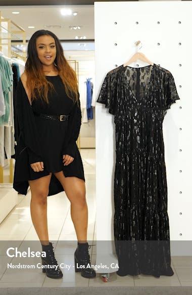 Animal Jacquard Maxi Dress, sales video thumbnail