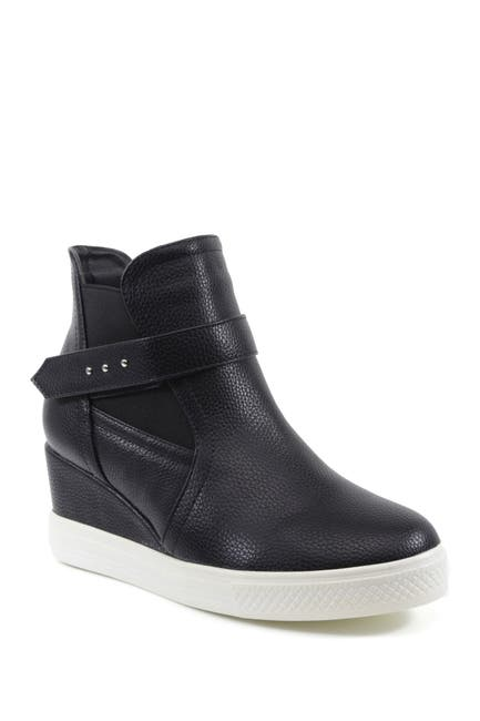 Image of Catherine Malandrino Modi High Top Wedge Sneaker