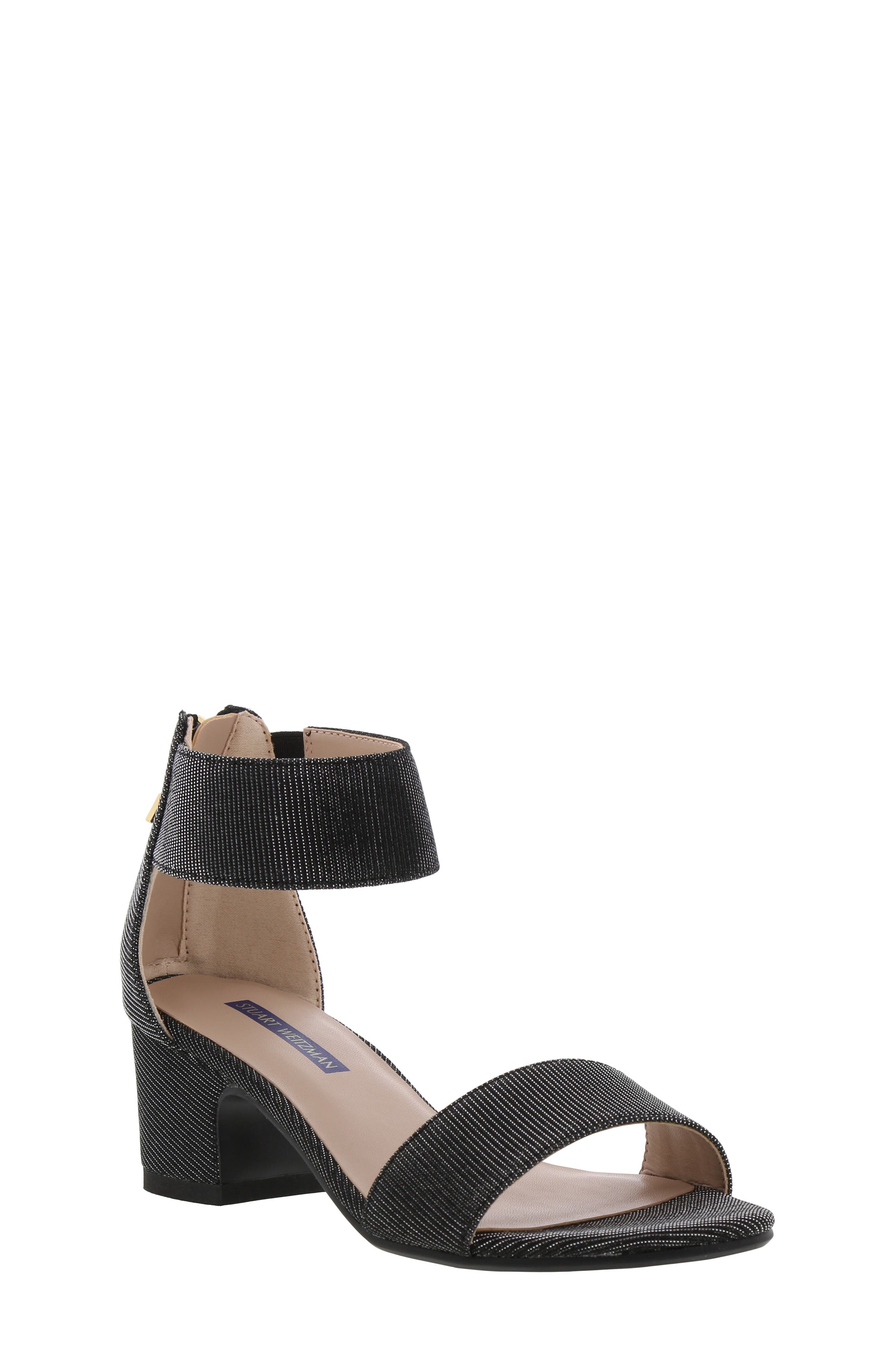 Rosalyn Alexa Sparkle Sandal, Main, color, BLACK