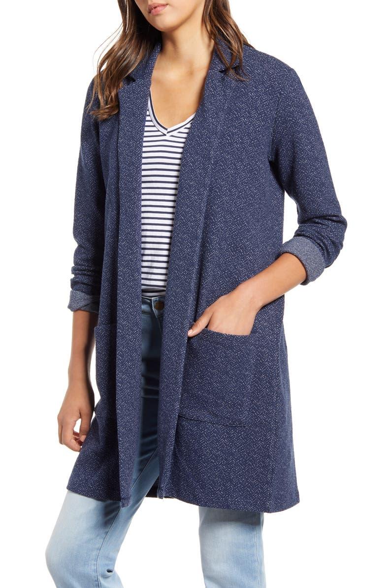 LUCKY BRAND Cotton Blend Car Coat, Main, color, 410