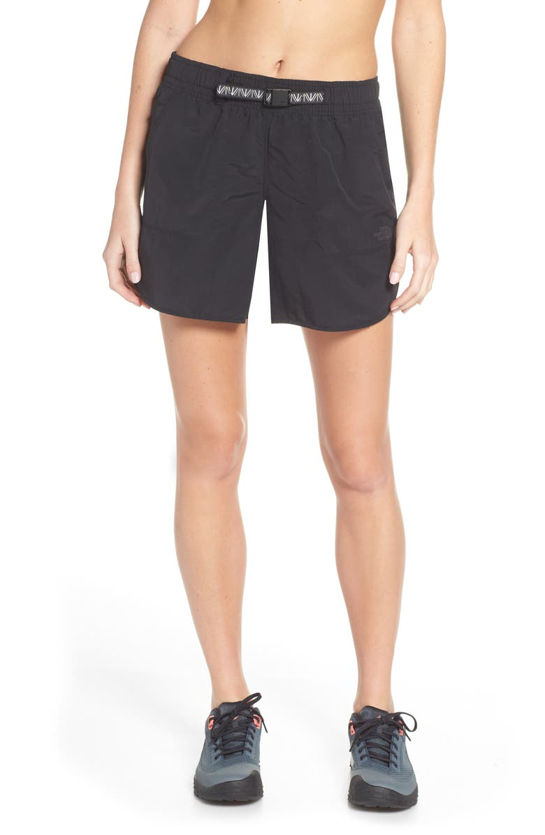 THE NORTH FACE Class V 2.0 Hiking Shorts, Main, color, TNF BLACK
