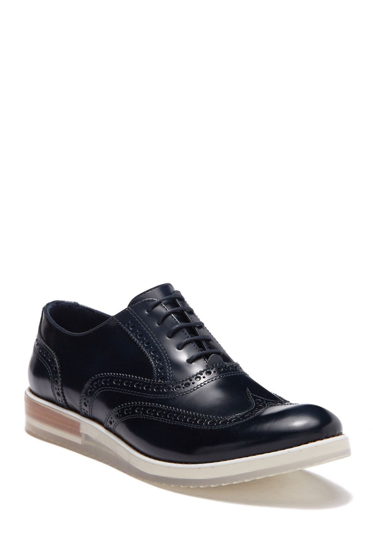 Image of Bugatchi Palermo Leather Brogue Derby