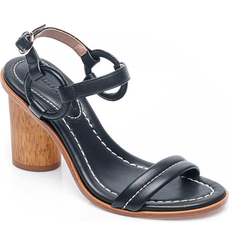 BERNARDO Harlow Ankle Strap Sandal, Main, color, 001
