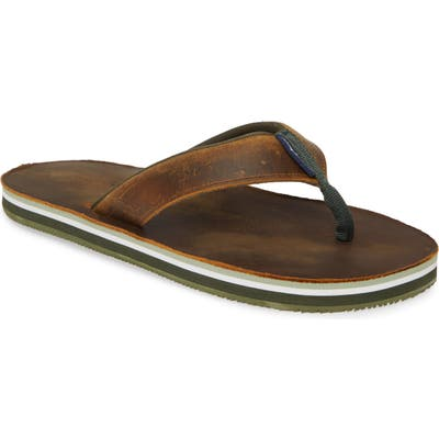 Tommy Bahama Khenan Flip Flop, Brown