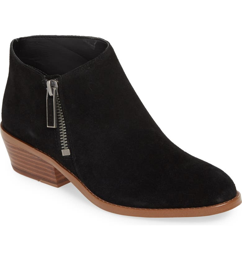 1.STATE Rosita Bootie, Main, color, BLACK SUEDE