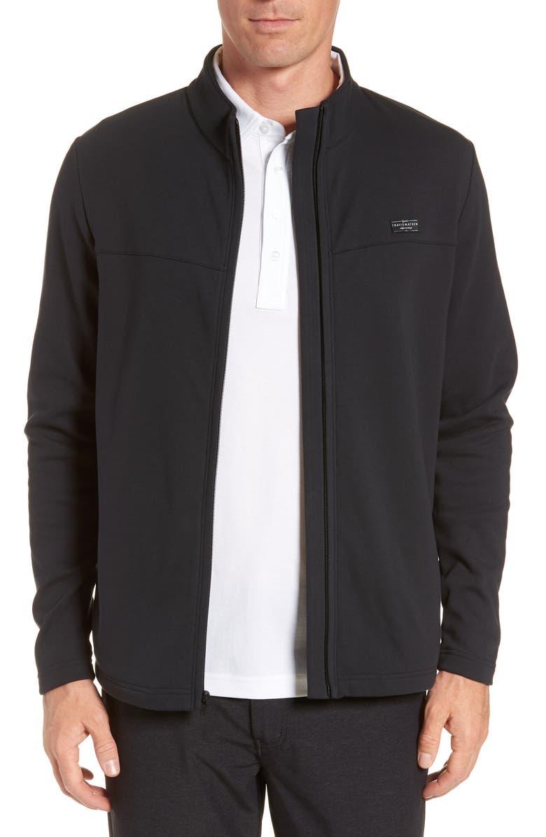 TRAVISMATHEW Koozie Jacket, Main, color, BLACK