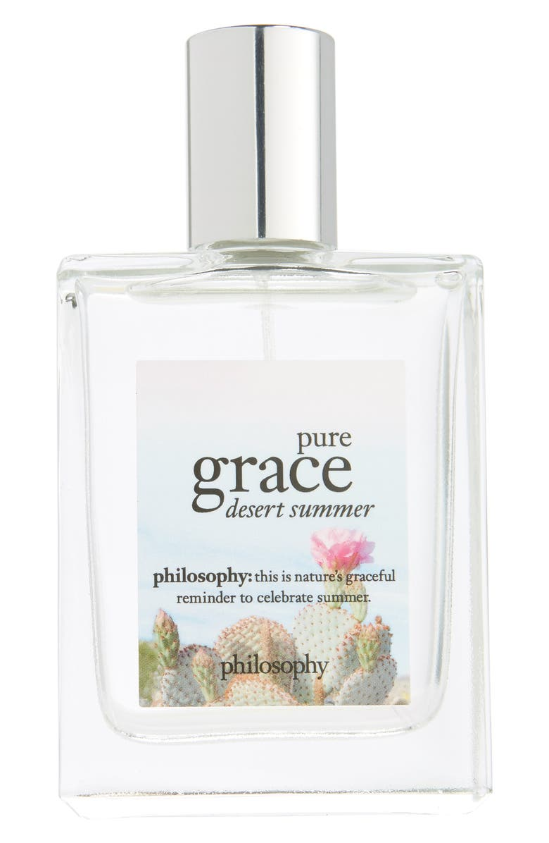 PHILOSOPHY pure grace desert summer spray fragrance, Main, color, 000