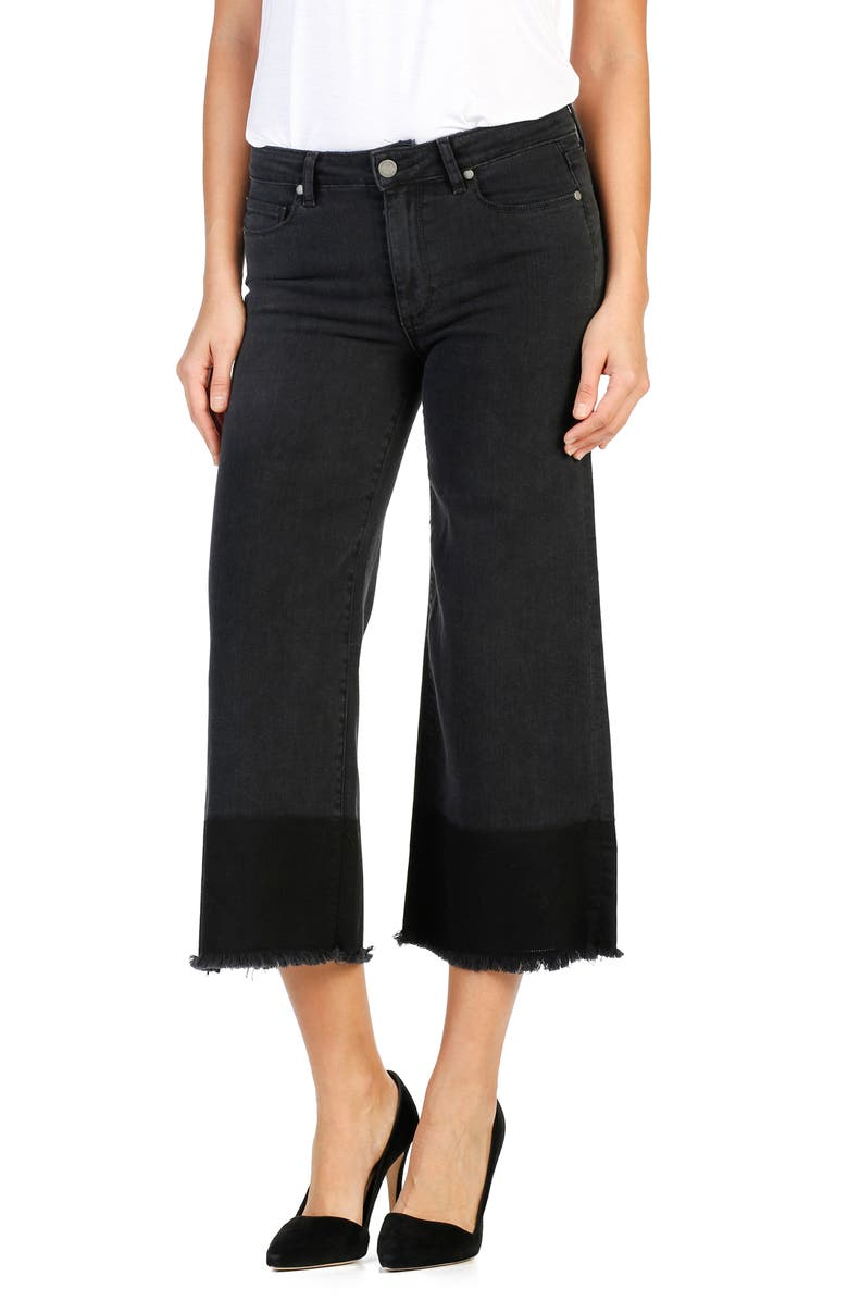 PAIGE Legacy - Lori Crop Wide Leg Jeans, Main, color, 004