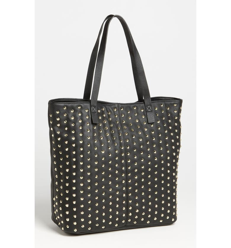 STEVEN BY STEVE MADDEN Steve Madden Studded Tote, Main, color, 001