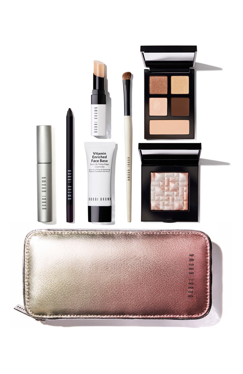 BOBBI BROWN Away We Glow Set, Main, color, 000