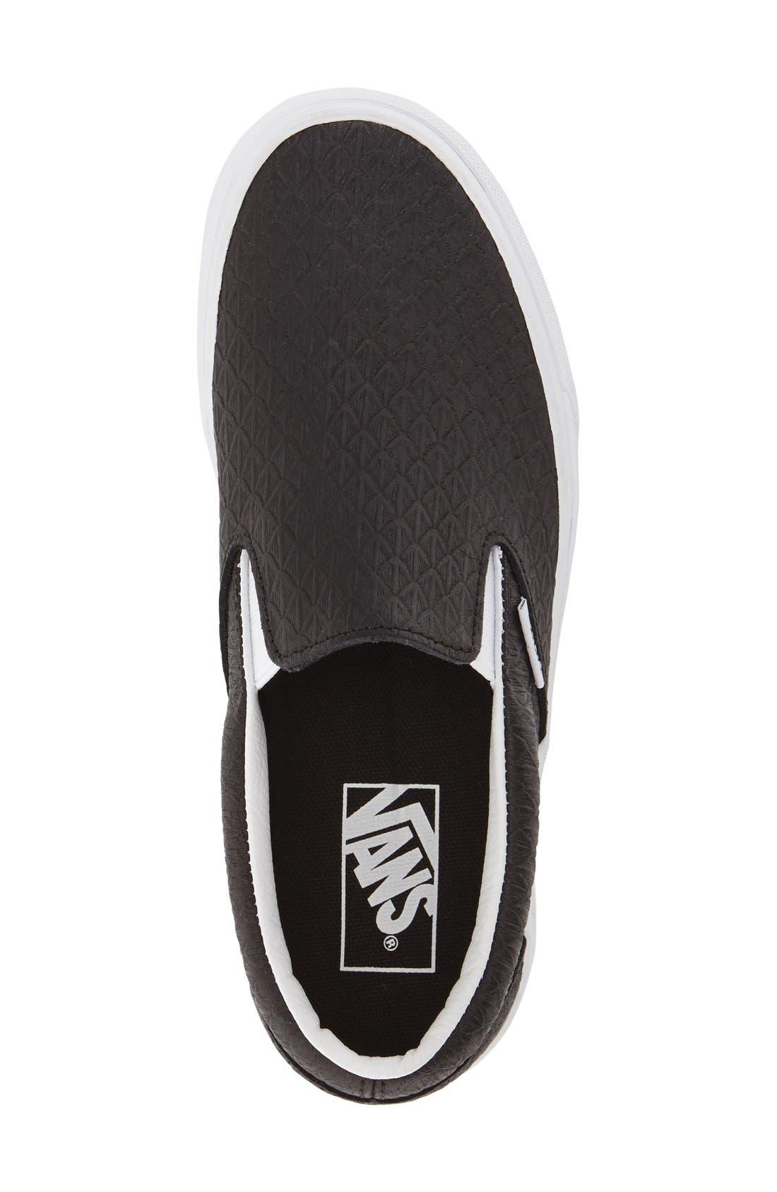 ,                             Classic Slip-On Sneaker,                             Alternate thumbnail 246, color,                             002