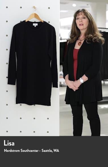 Long Sleeve Sweatshirt Minidress, sales video thumbnail