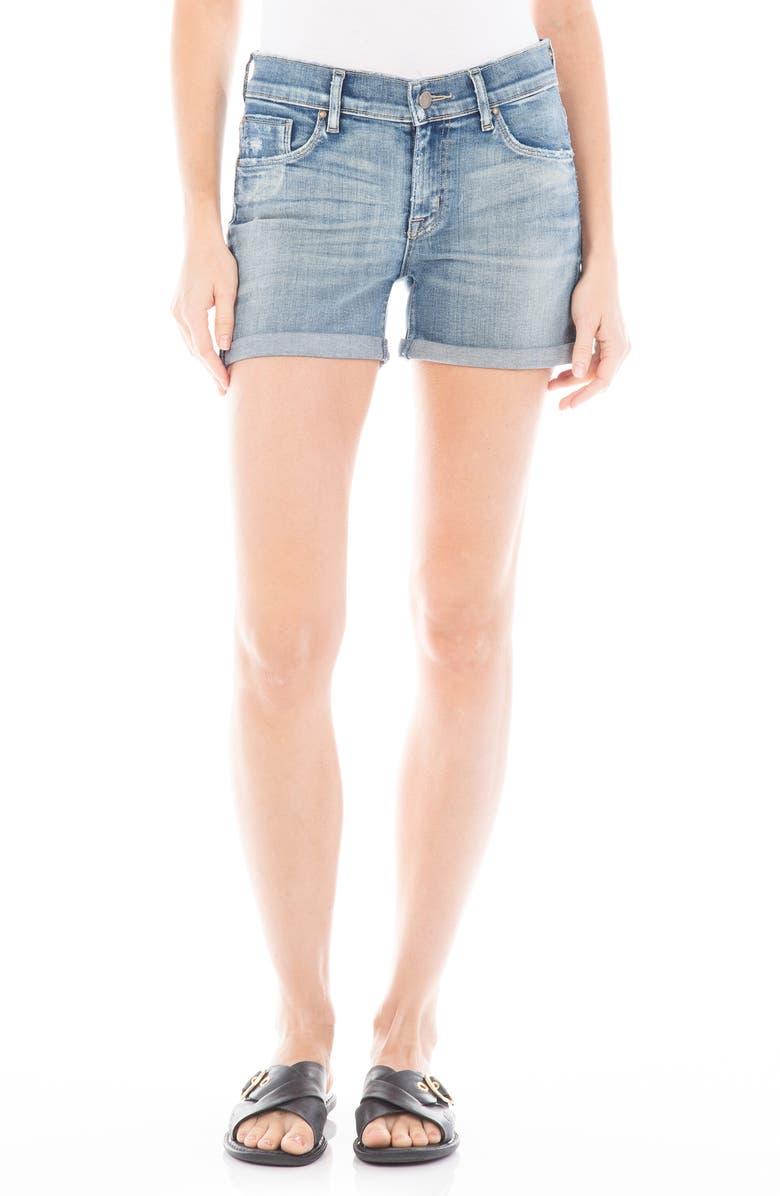 FIDELITY DENIM Malibu Denim Shorts, Main, color, SAKURA