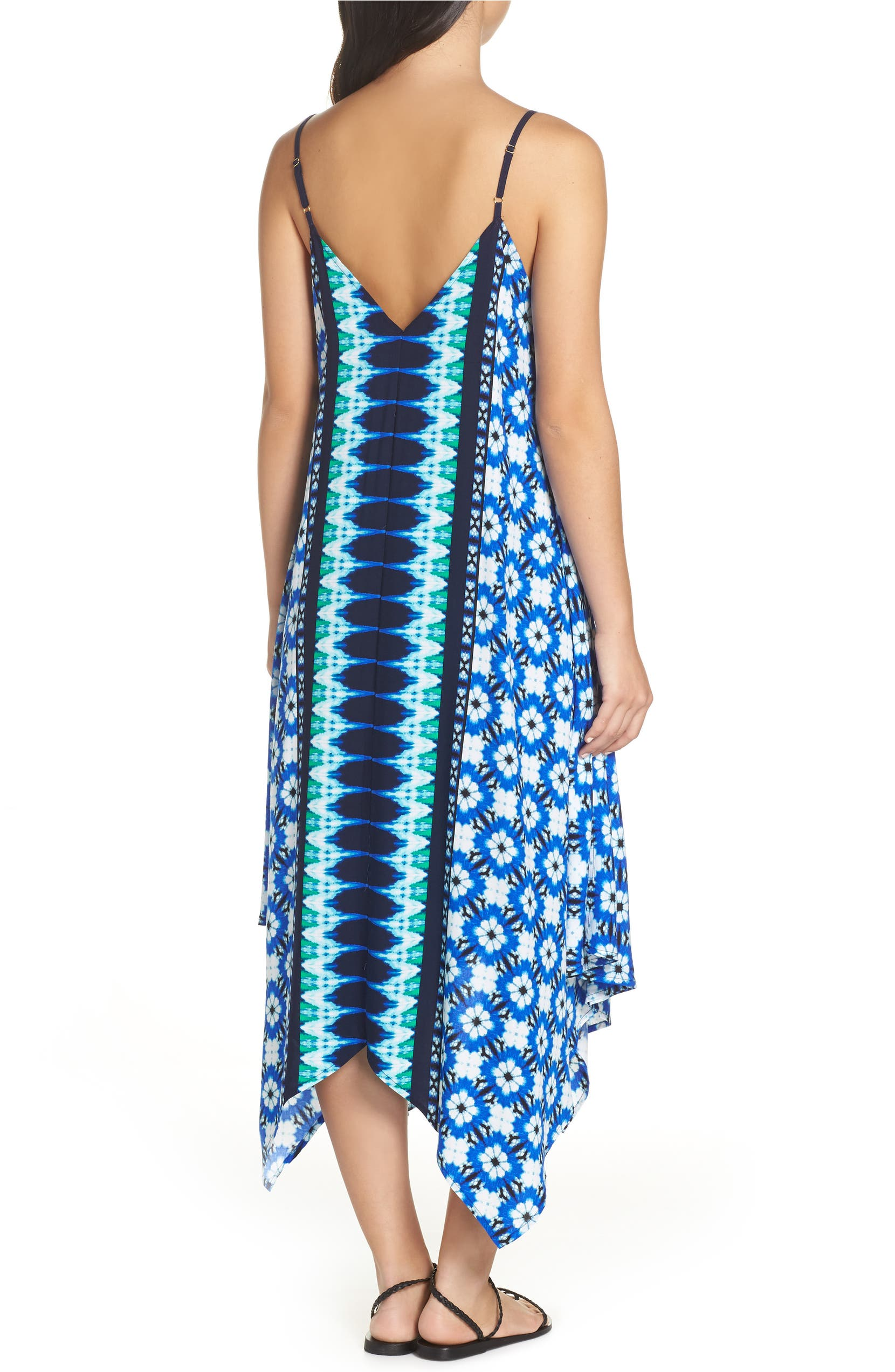 ca0cd11ced Tommy Bahama Tie Dye Seashells Cover-Up Dress | Nordstrom