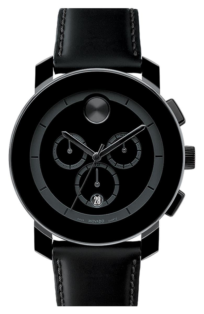 MOVADO 'Bold Chrono' Watch, Main, color, 001