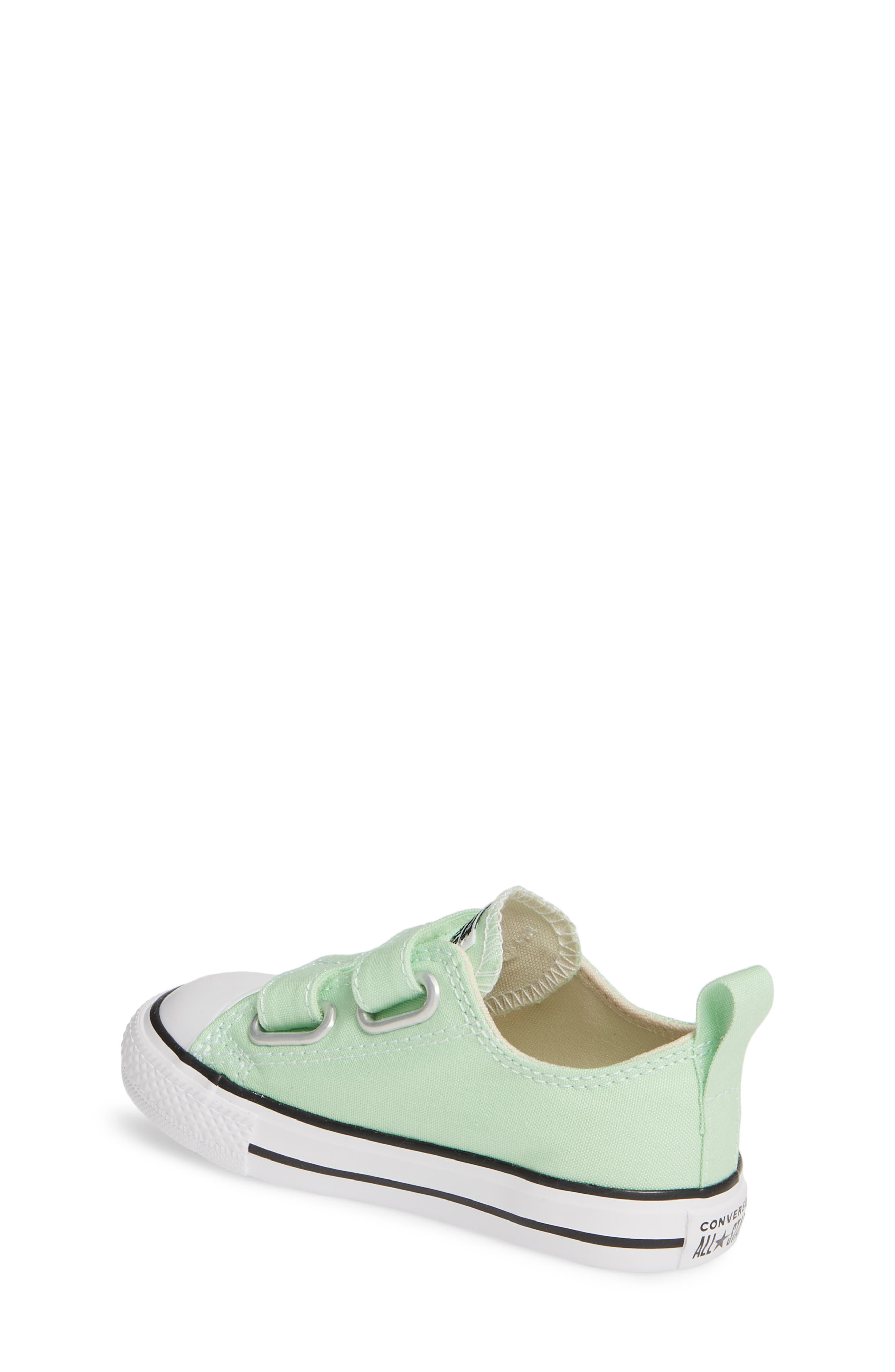 ,                             Chuck Taylor<sup>®</sup> 'Double Strap' Sneaker,                             Alternate thumbnail 2, color,                             LT. APHID GREEN