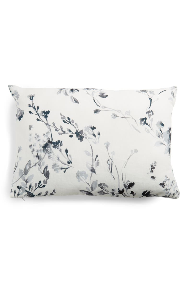 TREASURE & BOND Reversible Print Accent Pillow, Main, color, NAVY MIDNIGHT