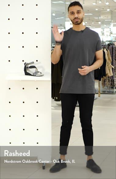 Capri Wedge Sandal, sales video thumbnail