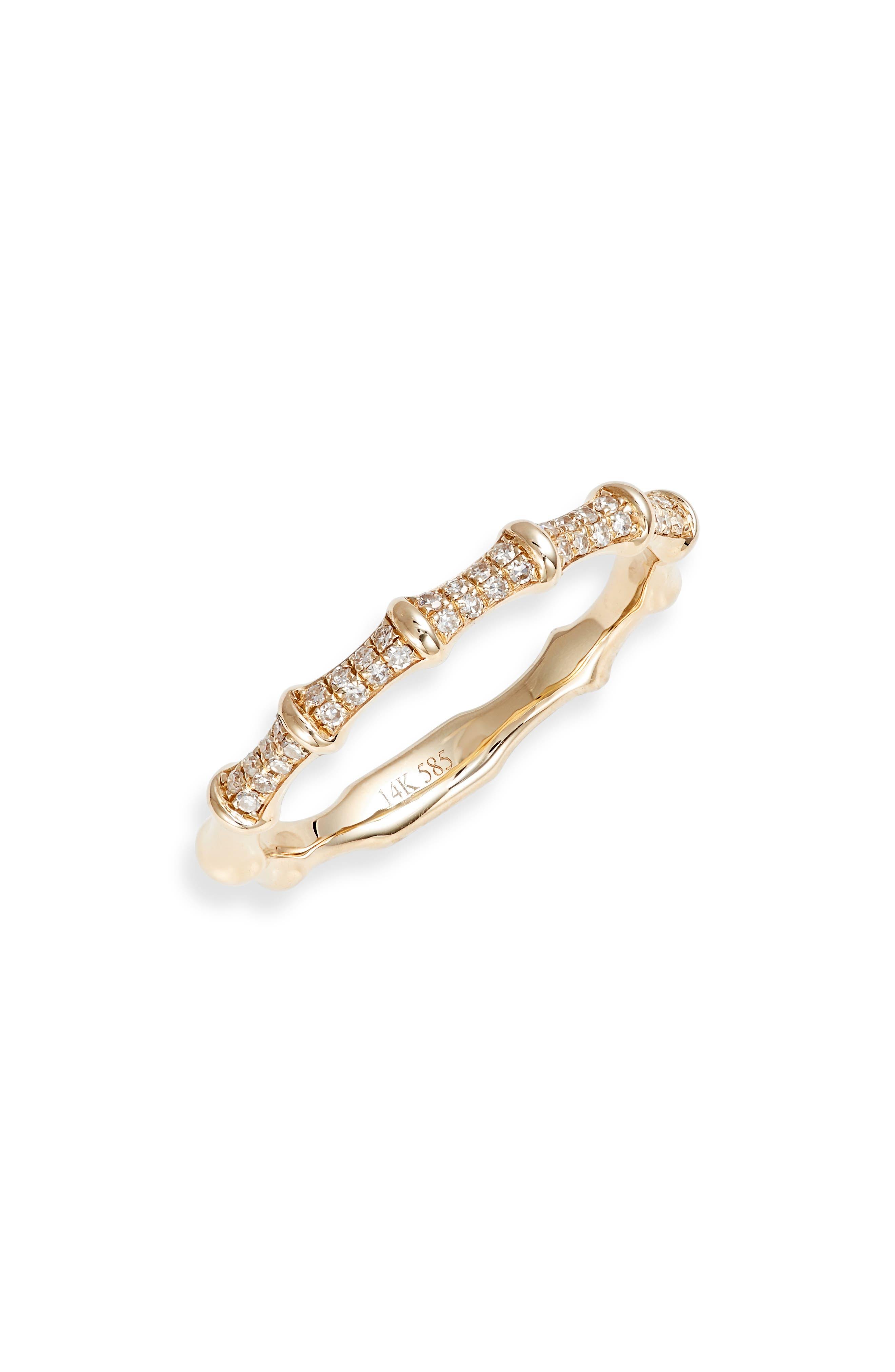 Impala Diamond Horn Ring