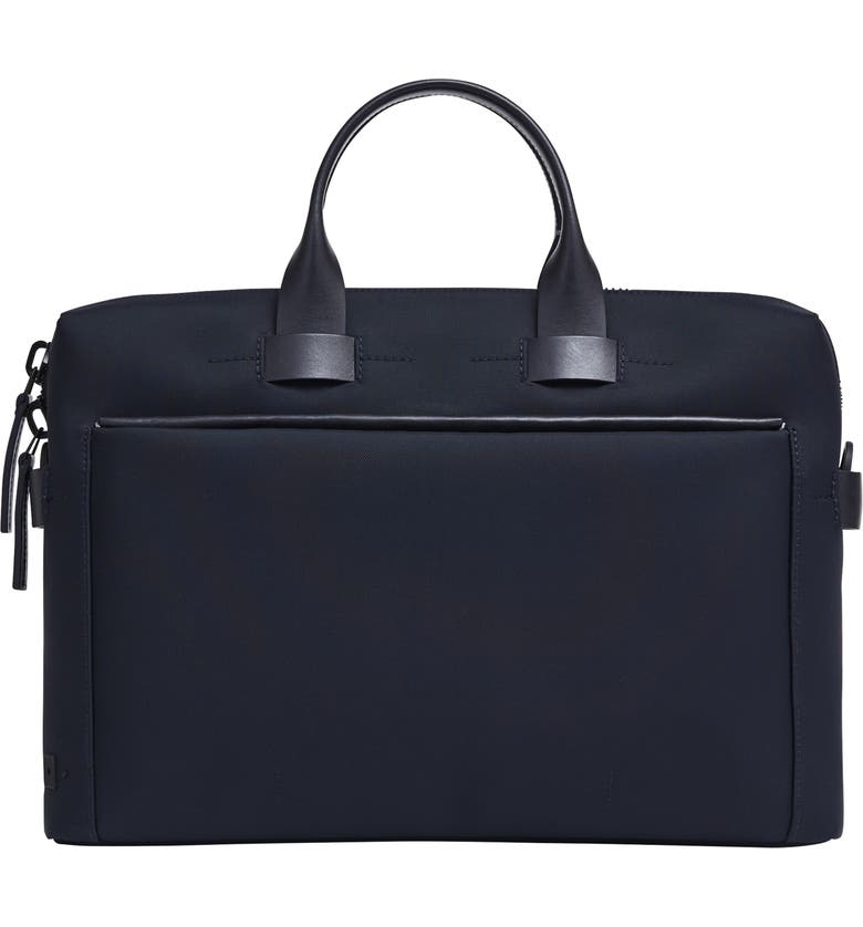 TROUBADOUR Slim Briefcase, Main, color, 400