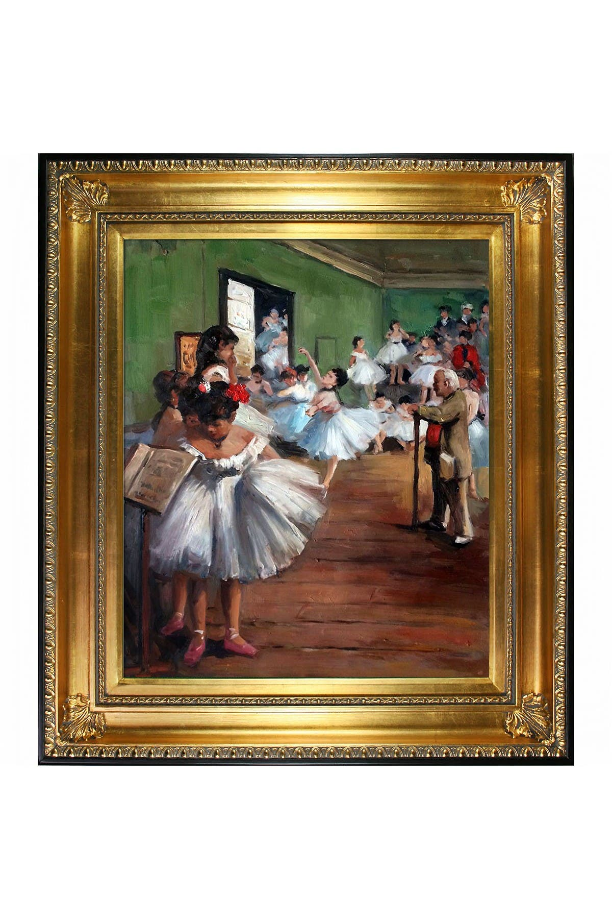 """Image of Overstock Art The Dance Class with Regency Gold Frame, 28.5"""" x 32.5"""""""