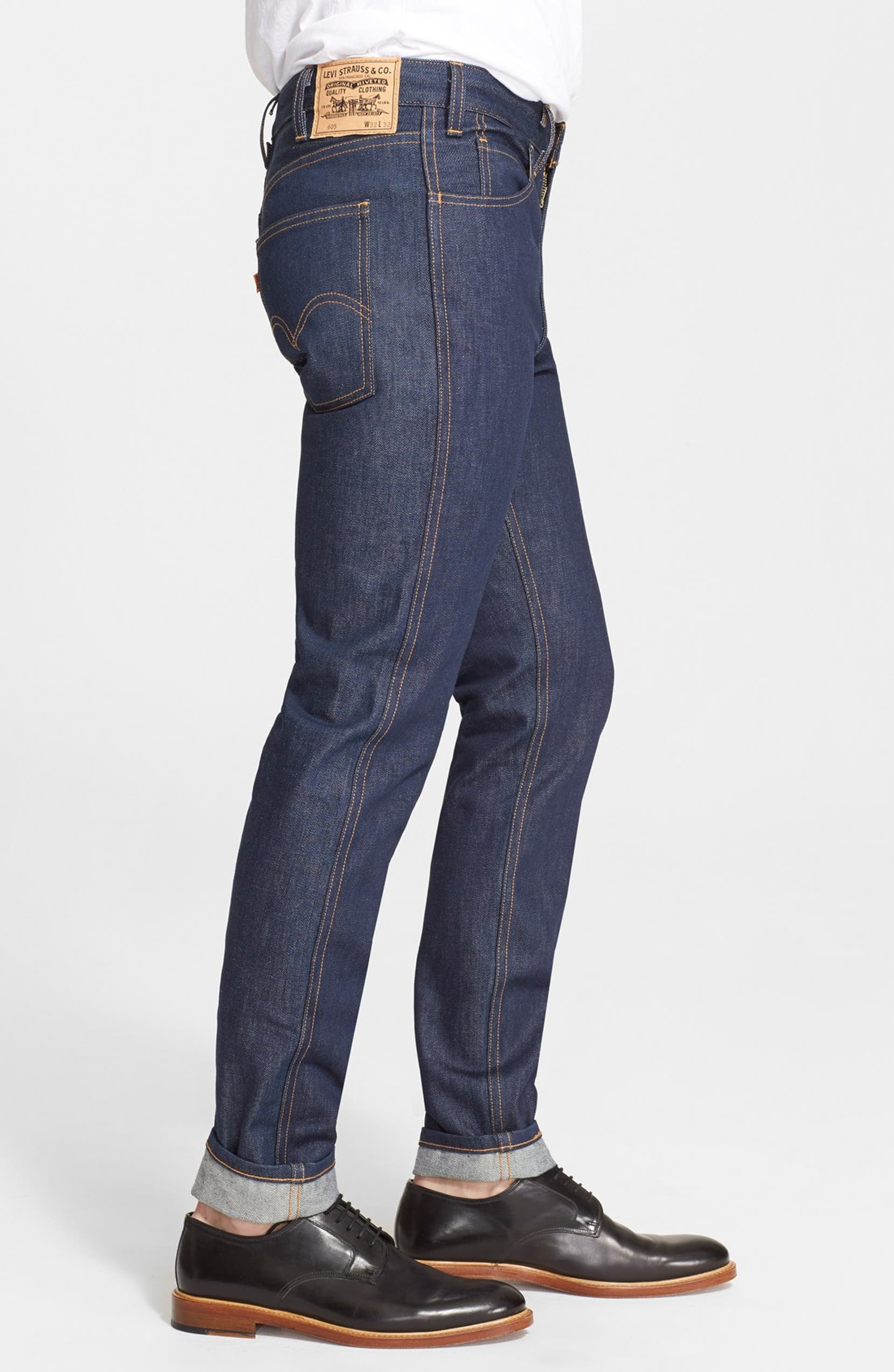 79d03c5ef1e Levi's® Vintage Clothing '1969 606®' Slim Fit Tapered Leg Jeans (Rigid  Indigo) | Nordstrom