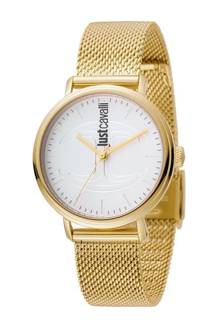 Image of Just Cavalli Women's Stainless Steel Bracelet Watch, 34mm