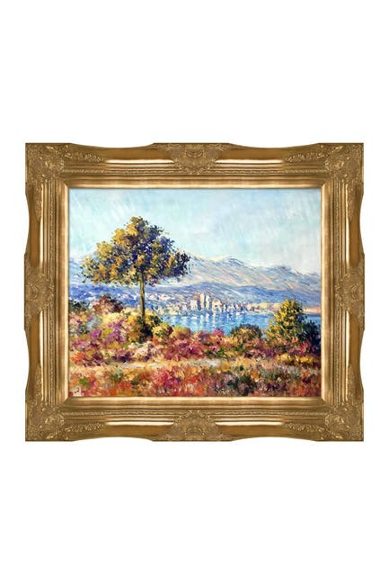 Image of Overstock Art Antibes, 1888 by Claude Monet Framed Painting