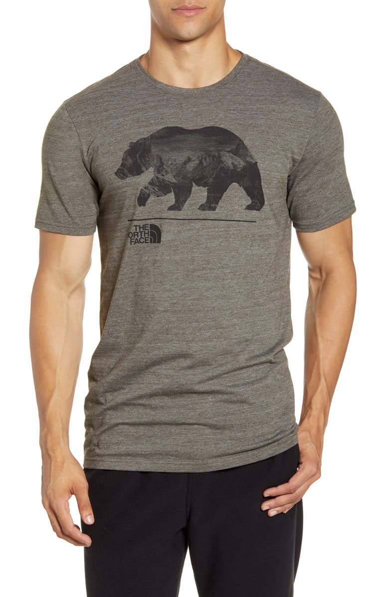 THE NORTH FACE Bearinda T-Shirt, Main, color, NEW TAUPE GREEN HEATHER