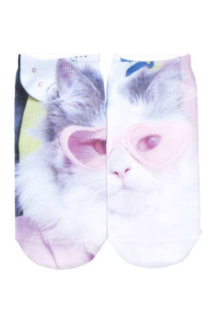 Image of Free Press No Show Sublimation Low-Cut Socks