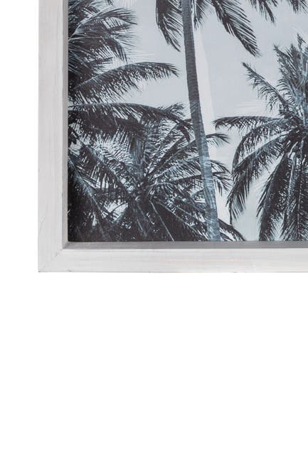 Image of Stratton Home Framed Palm Trees Wall Art