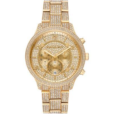 Michael Michael Kors Runway Crystals Bracelet Watch, 4m