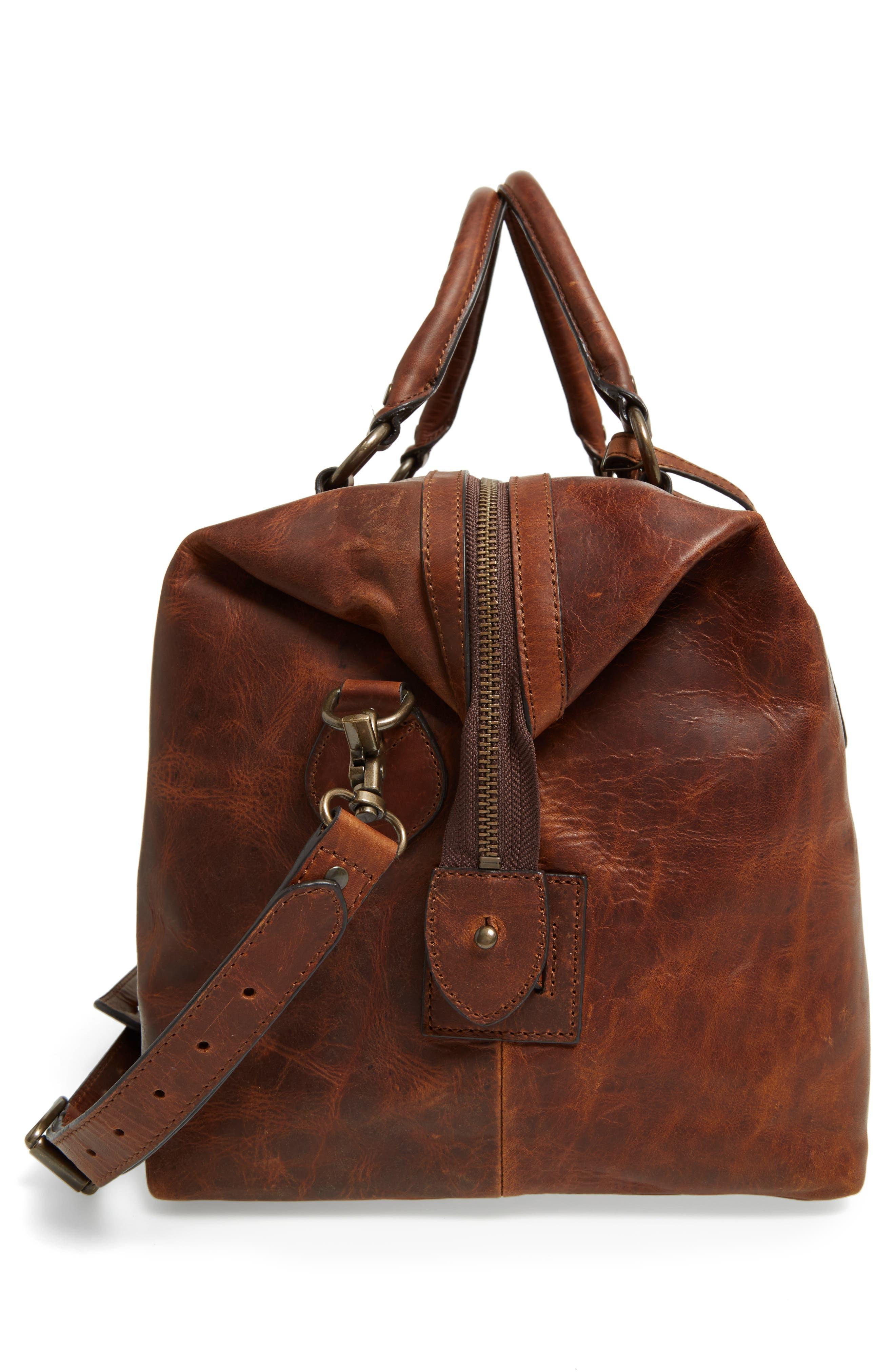 ,                             'Logan' Leather Overnight Bag,                             Alternate thumbnail 19, color,                             235