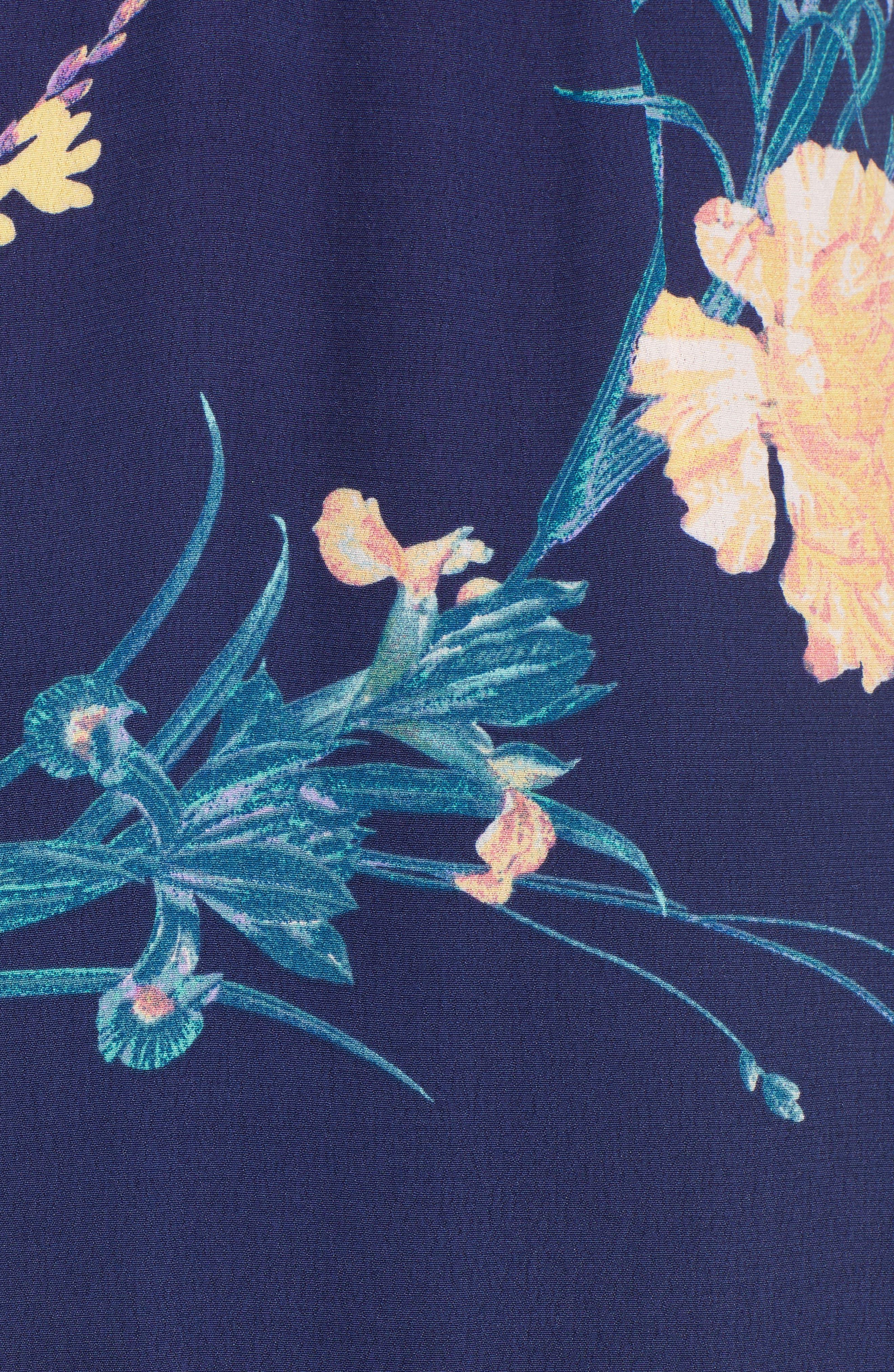 ,                             Long Languid Dress,                             Alternate thumbnail 8, color,                             410