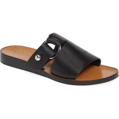 Rag & Bone Arc Slide Sandal, Black