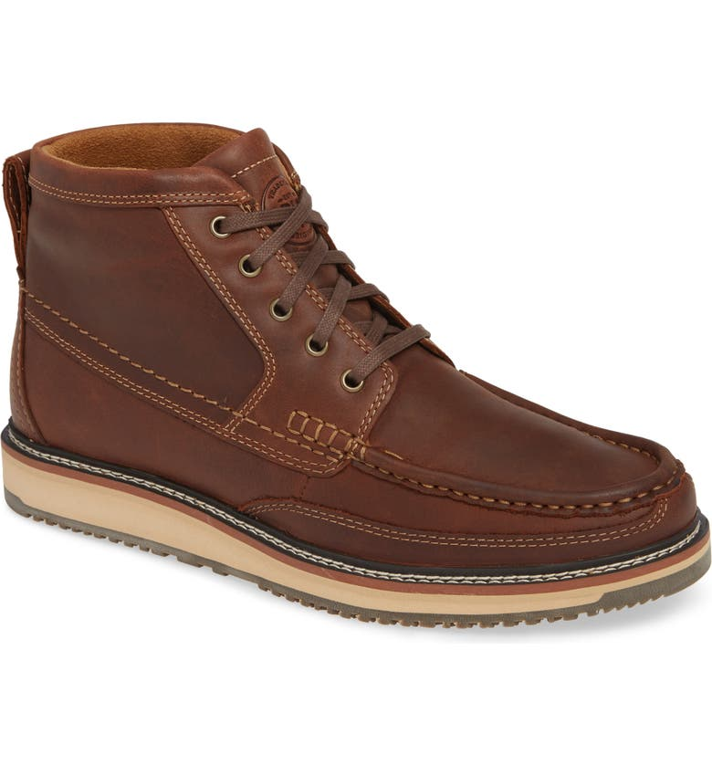 ARIAT 'Lookout' Moc Toe Boot, Main, color, 201