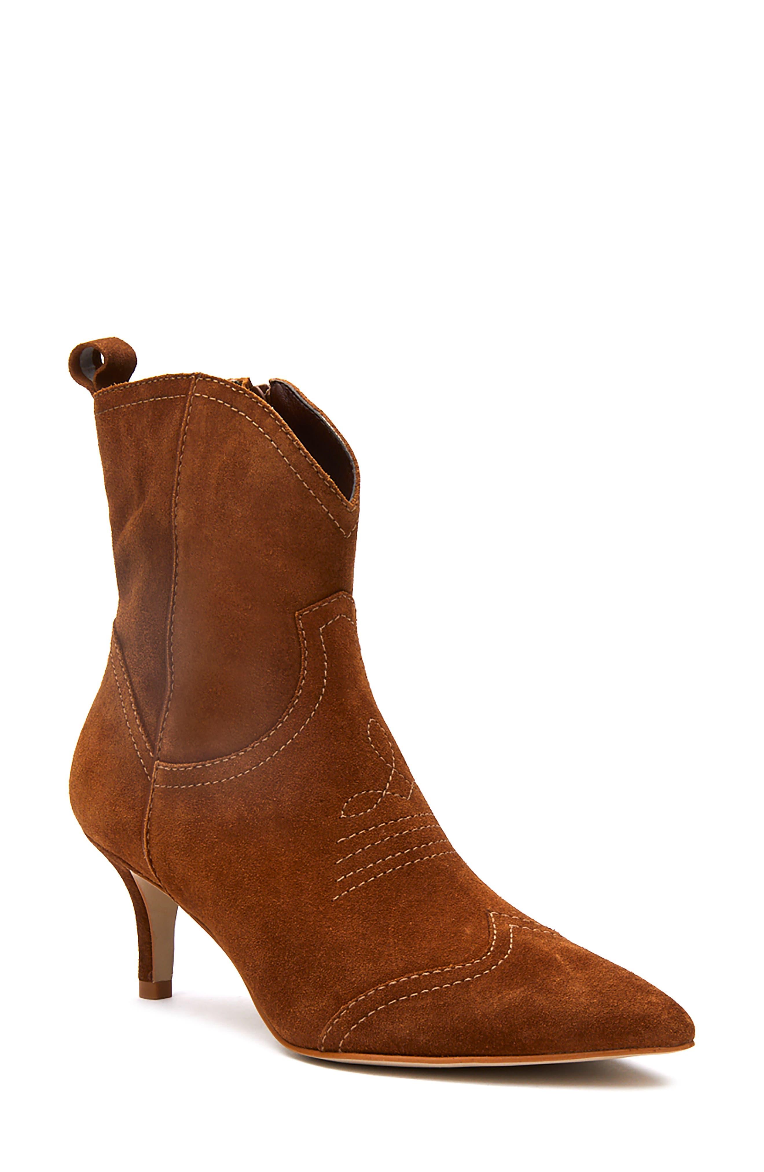 Aubrey Snake Embossed Western Boot